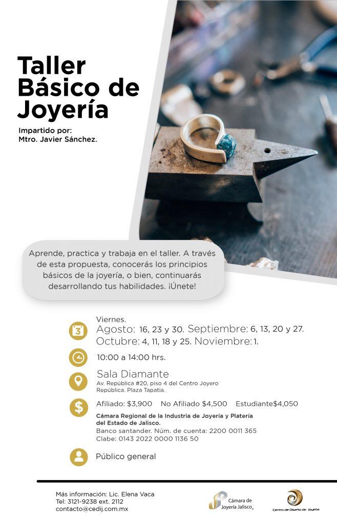 taller basico de joyeria